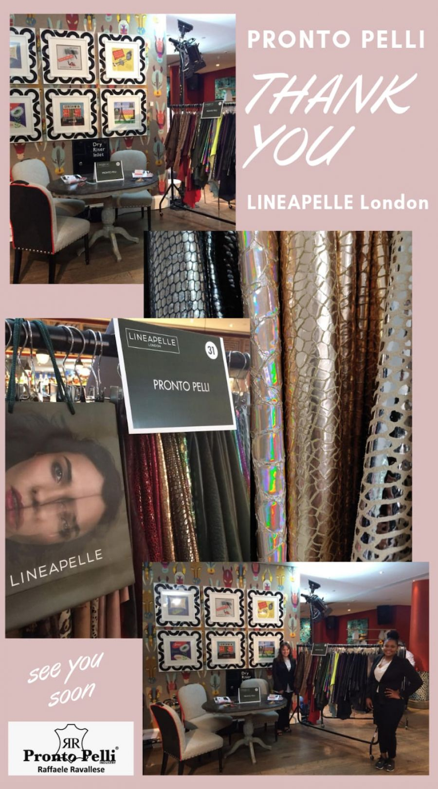 THANK YOU LINEAPELLE LONDON WINTER 20/21