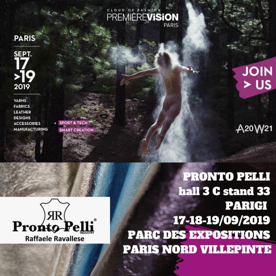 PREMIÈRE VISION 17>19 September 2019 Paris