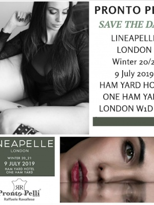 SAVE THE DATE  LINEAPELLE Londra